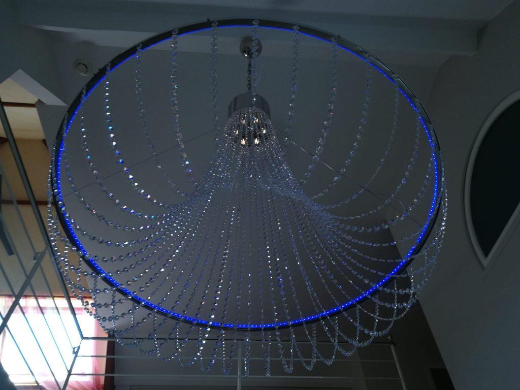 lustre-cristal-led